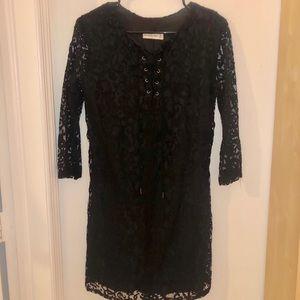 Abercrombie & Fitch black lace dress